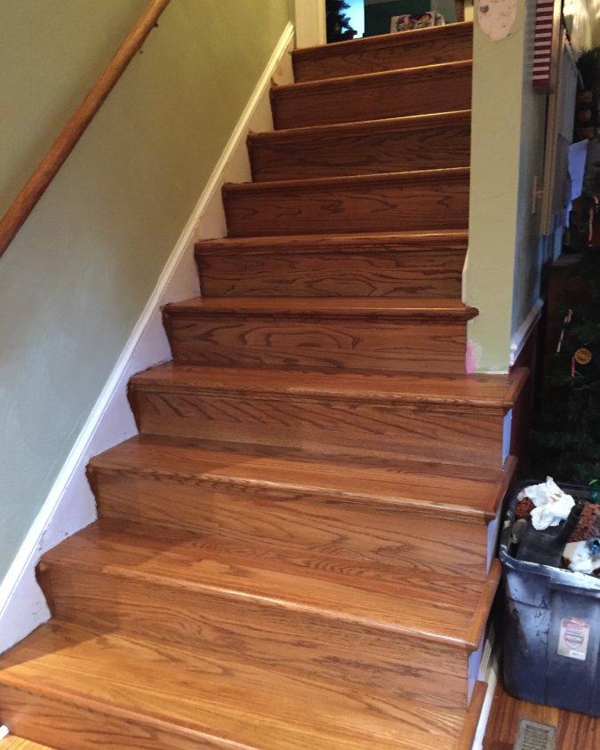 Wood Stairs Installation Home Floors Galore Llc Hampton Roads